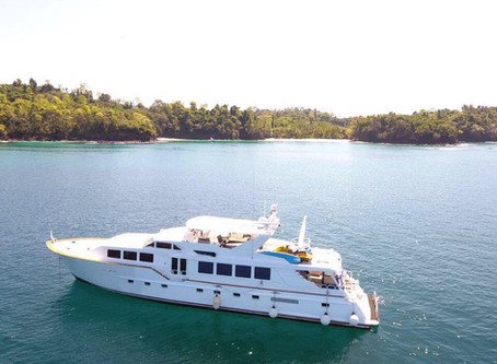 Introducing our Newest Mothership 110' Broward Yacht