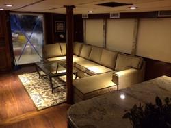 Rowley Marine Yachtmothership at Panama sport fishing lodge living room