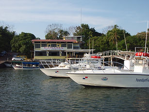 Panama Sport Fishing Lodge and boats