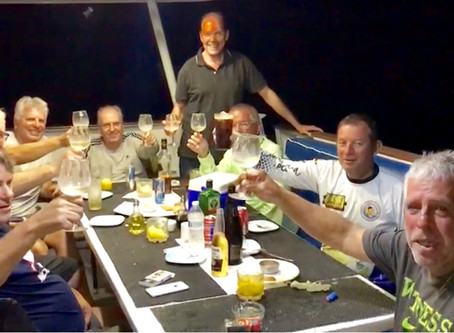 Everton of Primofishing from Puerto Alegre, Brazil brought his group to fish aboard our Mothership M