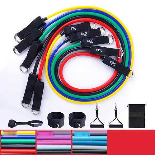 Fitness Insanity Resistance Band Set - 5 pieces