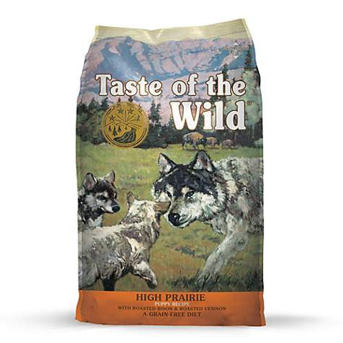 Taste of the Wild High Prairie Puppy Recipe with Roasted Bison & Roasted Venison