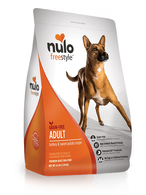 Nulo FreeStyle Adult Dog Turkey & Sweet Potato Recipe