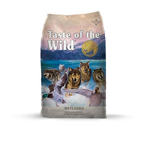 Teasted of the Wild Wetlands Canine Recipe with Roasted Fowl