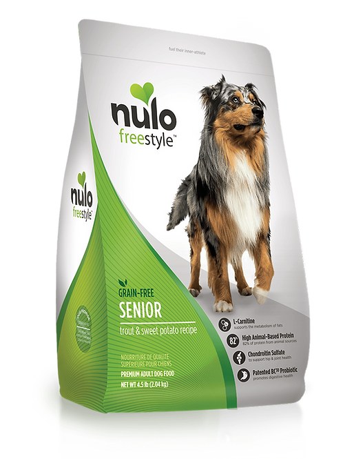 Nulo FreeStyle Dog Senior Trout & Sweet Potato Recipe