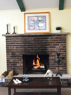 Chalet Full Mason Fireplace