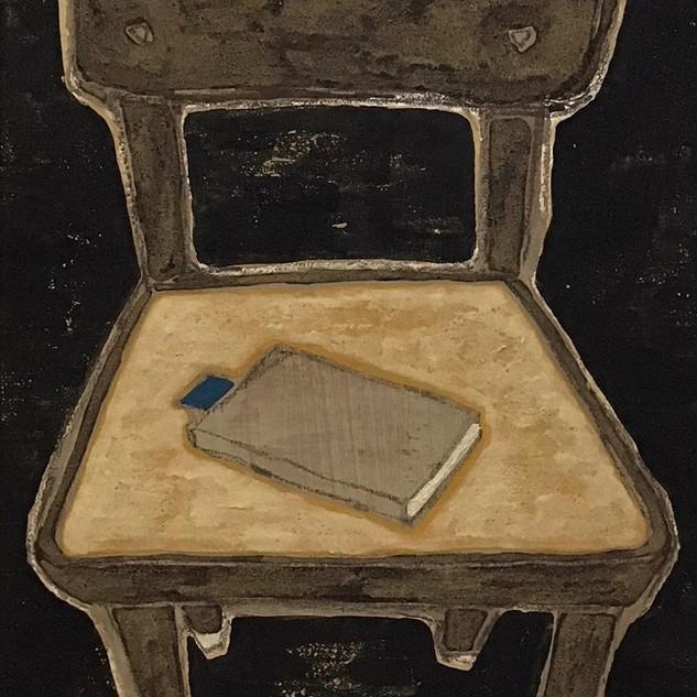 椅子と文庫本
