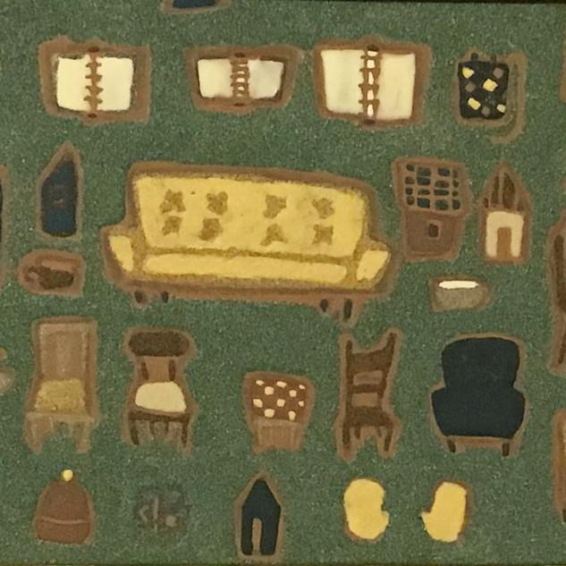 部屋曼荼羅(胎蔵界)