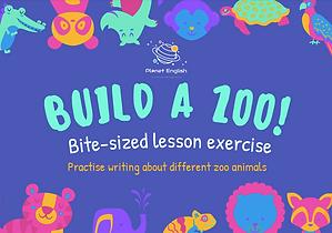 Build a zoo activity thumbnail.