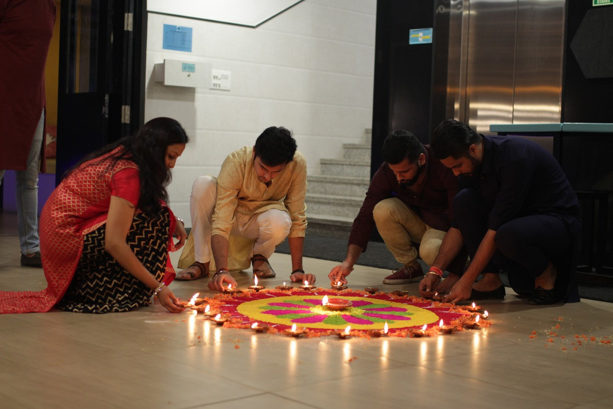 Diwali at your home away from home!