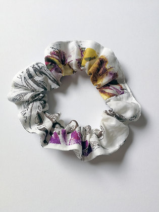 Italian Cotton Scrunchie