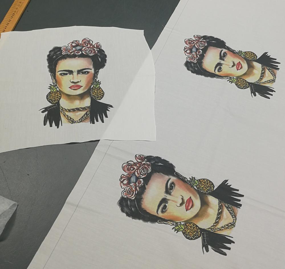 Frida Kahlo Hand-drawn Print
