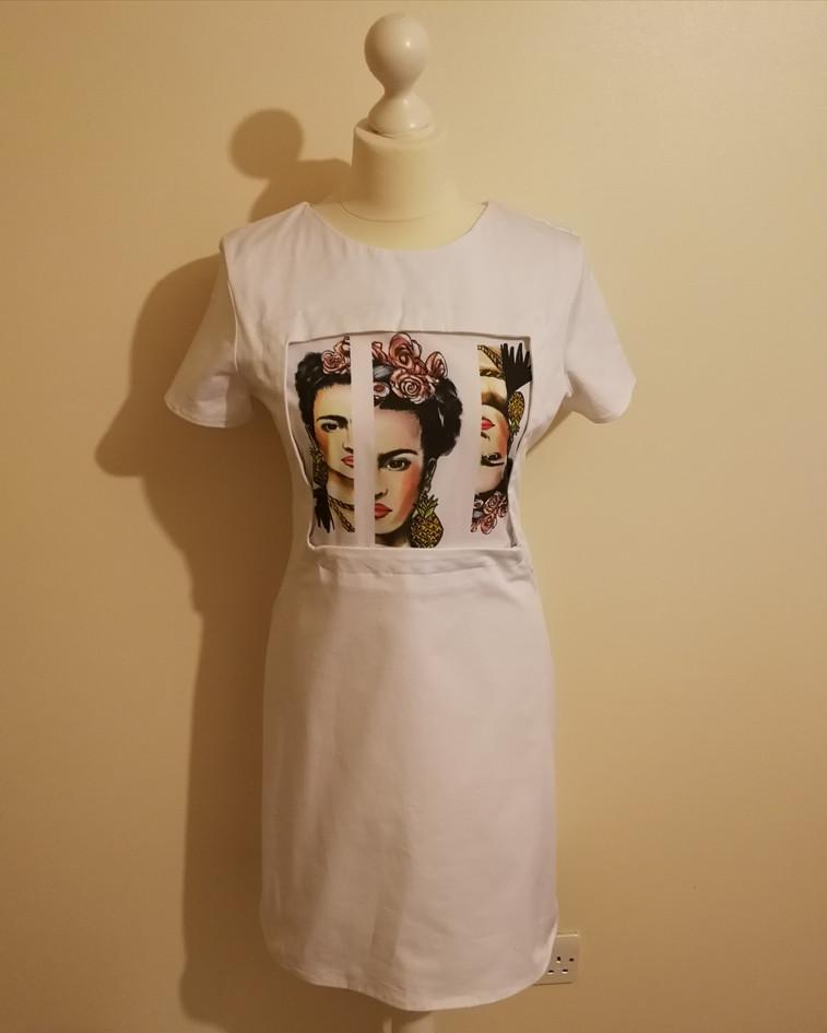 Deconstructed Frida Kahlo Print