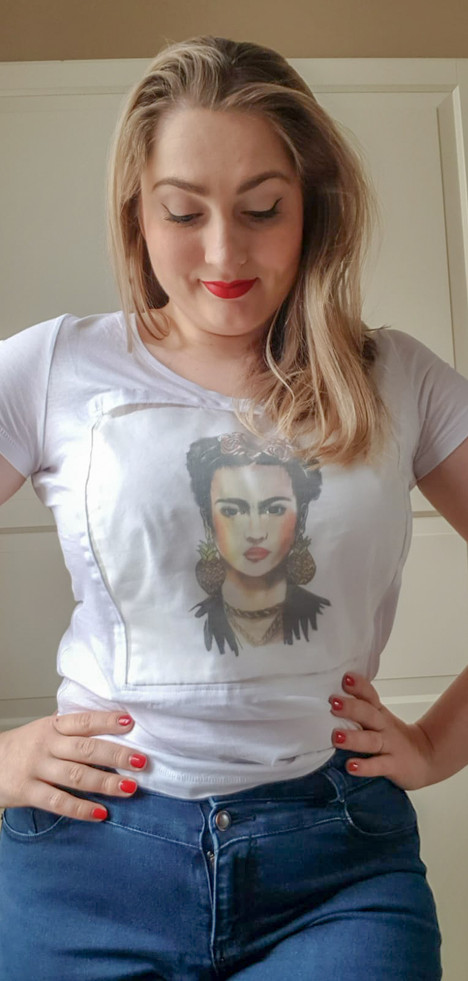 Transformation T-shirt - Frida Kahlo Print