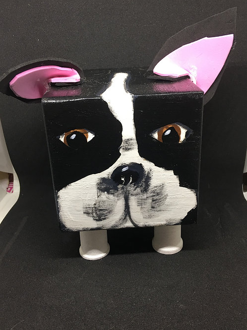 Boston Terrier Block