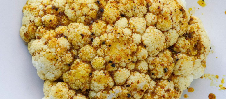 Cumin Spiced Cauliflower Soup