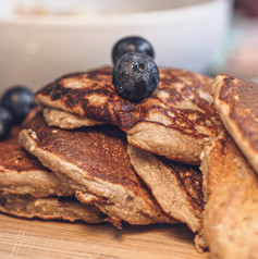 Keto LCHF Flax Pancake