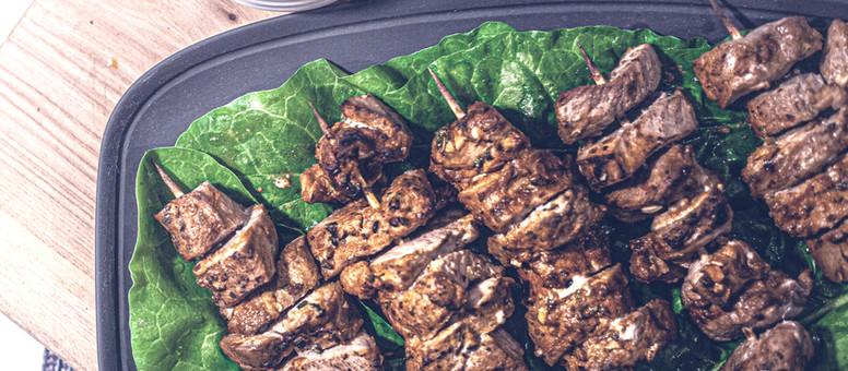 Quick & Easy Beef Skewers