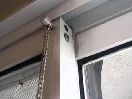 Securing A Sliding Door
