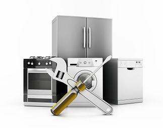 Washer & Dryer, Refrigerator, Oven, Dishwasher