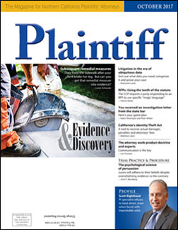 Plaintiff Magazine Features Bill Callaham's Story