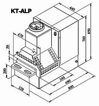 Cove KT Meat Press Dimensions and Size