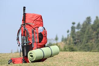 mochila camping