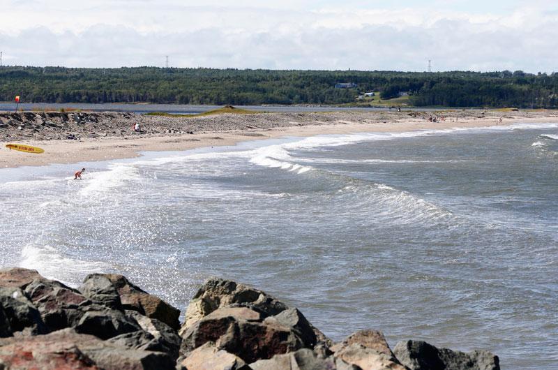 One of Many Cape Breton Beaches!