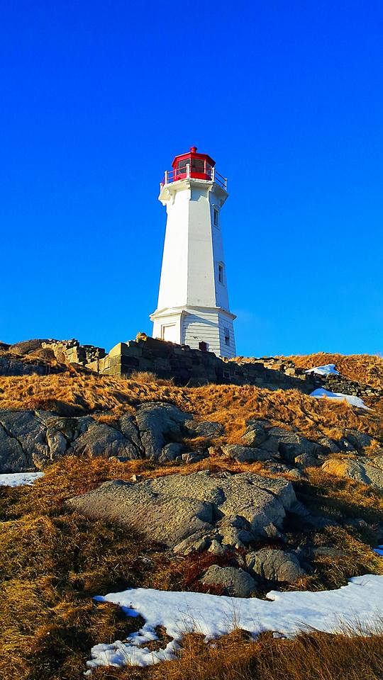 Lighthouse in Louisbourg