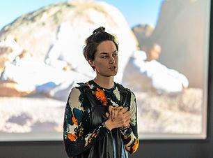 Isabel Presenting at CultureHub LA, 2020