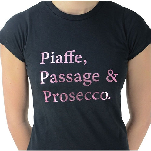 HyFASHION Piaffe, Passage & Prosecco T-Shirt