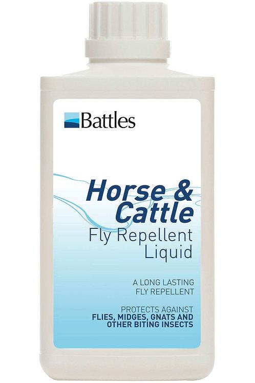 Battles Horse & Cattle Fly Repellent Liquid