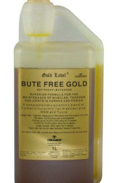 Gold Label Bute Free Gold 1Ltr