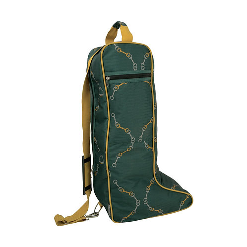 Hy Equestrian Elegant Stirrup and Bit Boot Bag