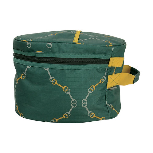 Hy Equestrian Elegant Stirrup and Bit Hat Bag