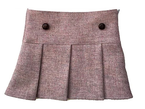 The Sandringham Skirt - Sugared Almond