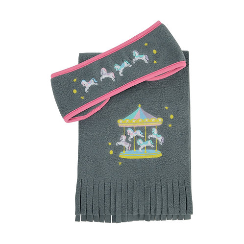Merry Go Round Head Band and Scarf Set by Little Rider