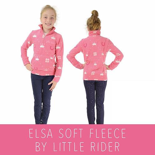 Elsa Soft Fleece by Little Rider