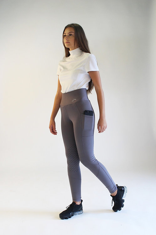 High-Waist Pocket EnduranceHold® Riding Tights
