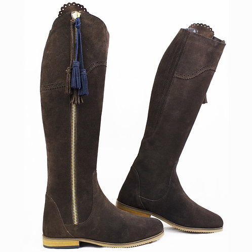 Seville Long Suede Boot
