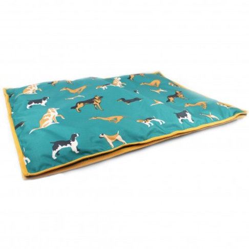 Dogs Print Dog Bed