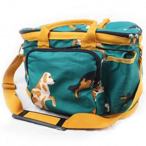 Dogs Print Grooming Bag