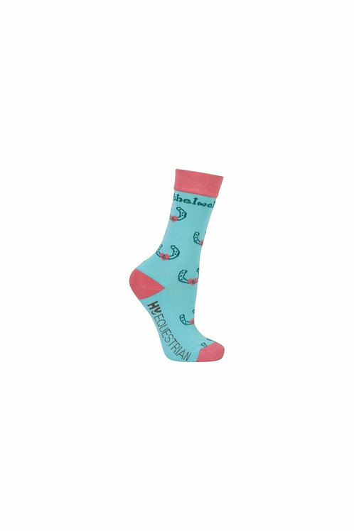Hy Equestrian Thelwell Collection Children's Trophy Socks (Pack of 3)