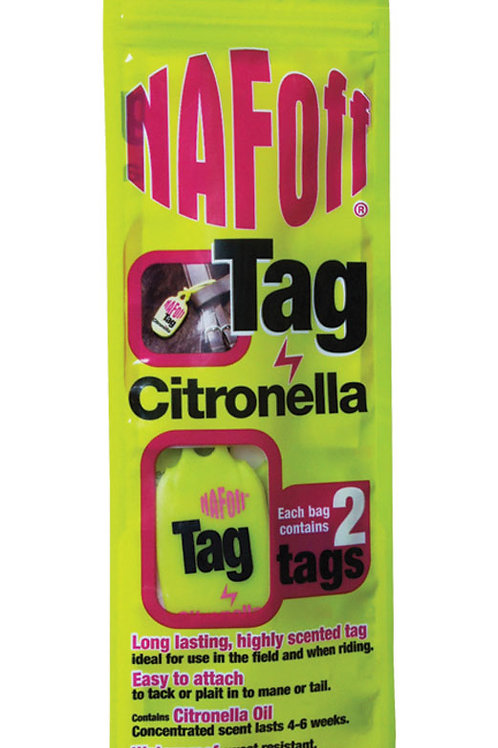 NAF Citronella Tag (Twin Pack)