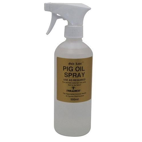 GOLD LABEL PIG OIL SPRAY