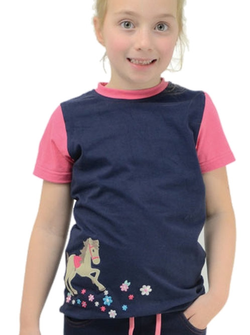 Felicity Flower T-Shirt by Little Rider