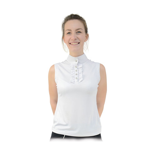 HyFASHION Katherine Ruffle Sleeveless Show Shirt