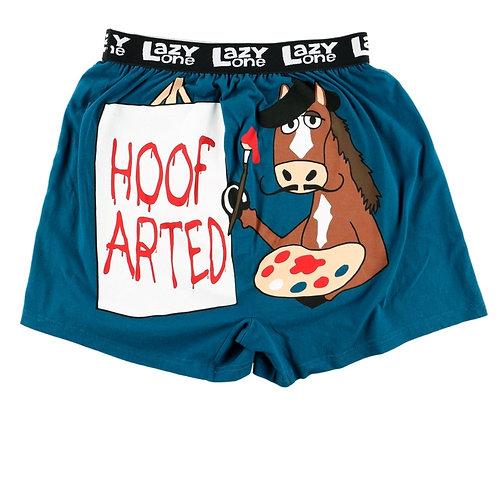 LazyOne Hoof Arted Mens Boxer Shorts