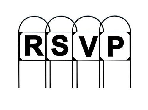 Stubbs Tread-In Metal RSVP Dressage Marker Letters