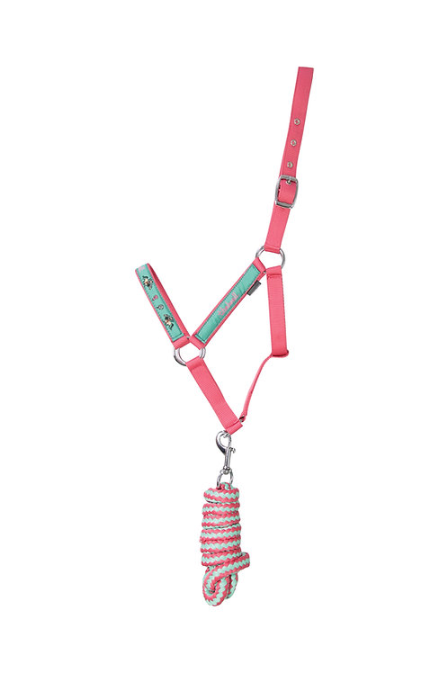 Thelwell Trophy Collection Head Collar and Lead Rope